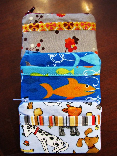 Three Little Finished Wallets