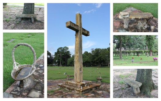 Art of Dionicio Rodriguez, Woodlawn Garden of Memories Cemetery, Houston