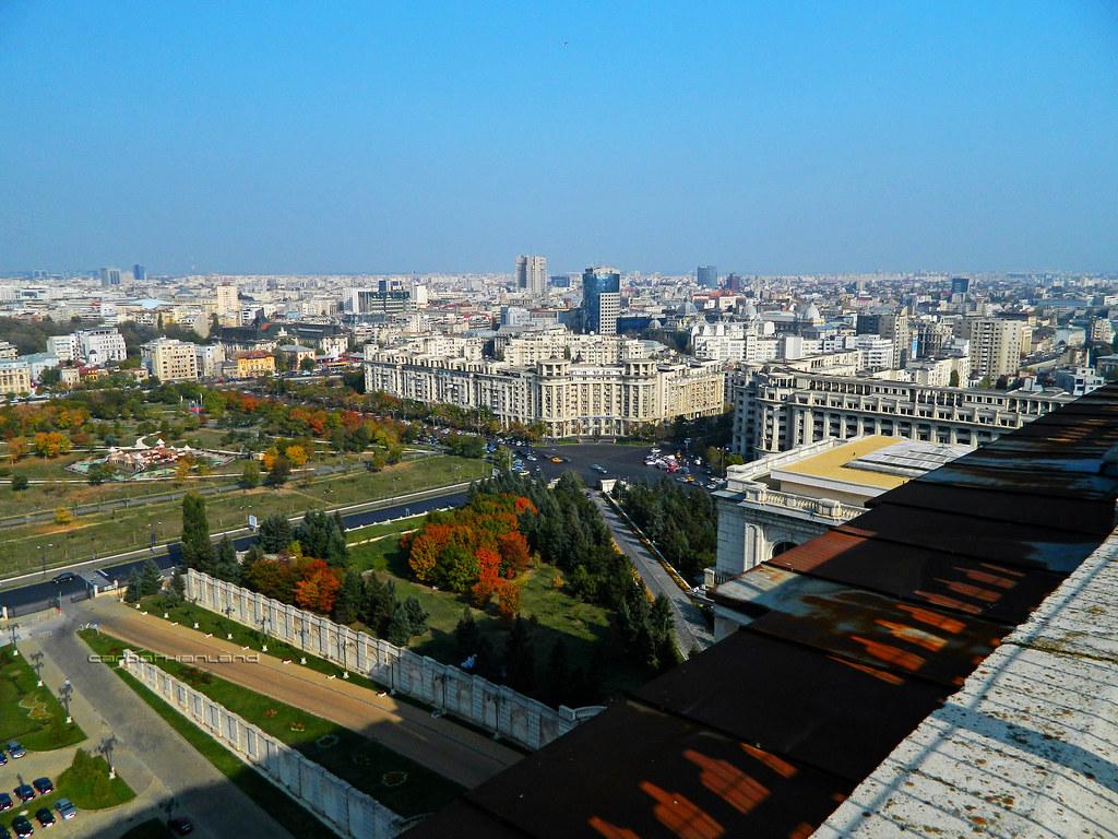 Inside Parliament Palace, Bucharest