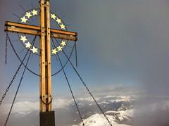 Gipfelkreuz Großer Kinigat 2.689