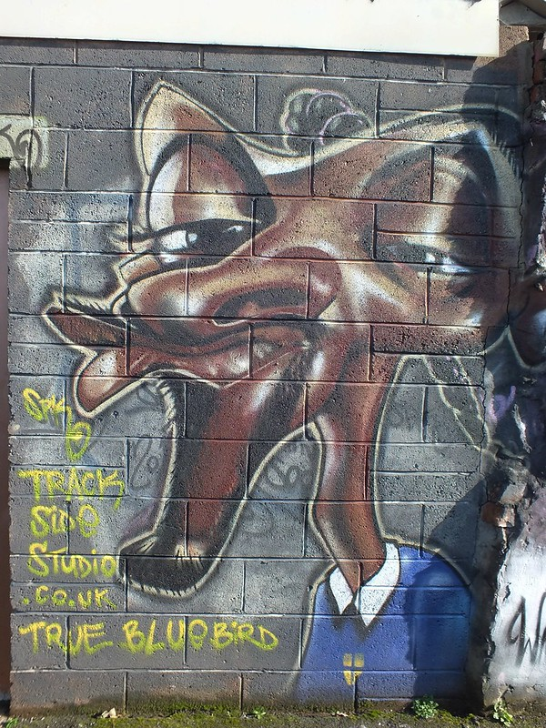 Street Art at Trackside, Cathays