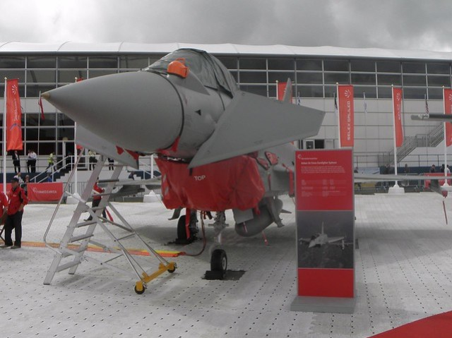An Italian Air Force Eurofighter Typhoon