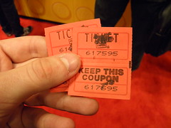 NYCC Landspeeder Tin tickets