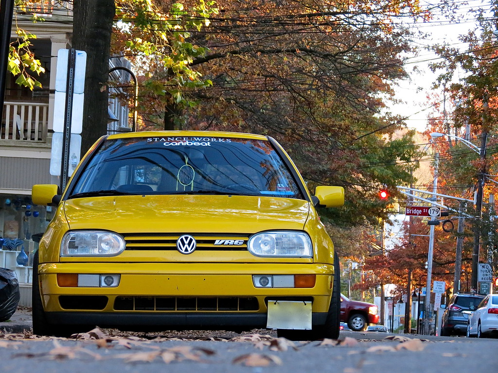 Test Driven 1998 Volkswagen Golf Gti Vr6 Slammed 9 5 10