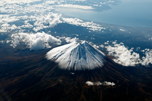Mt Fuji from an ANA flight