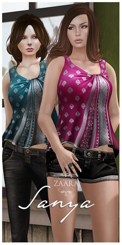 Zaara : Sanya Draped tops