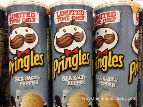 Pringles Limited Time Only Sea Salt & Pepper