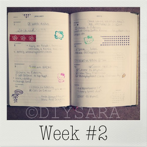 My Plannerd Week... One and Two (4/4)