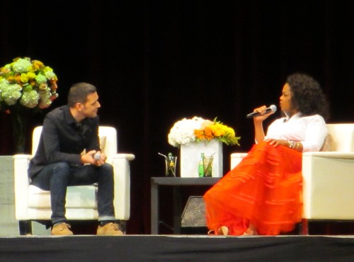 Oprah in Edmonton