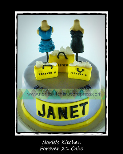 Norie's Kitchen - Forever 21 Cake by Norie's Kitchen