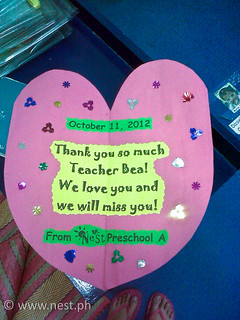 Preschool As Farewell Card
