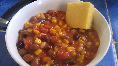 Succotash and Cornbread