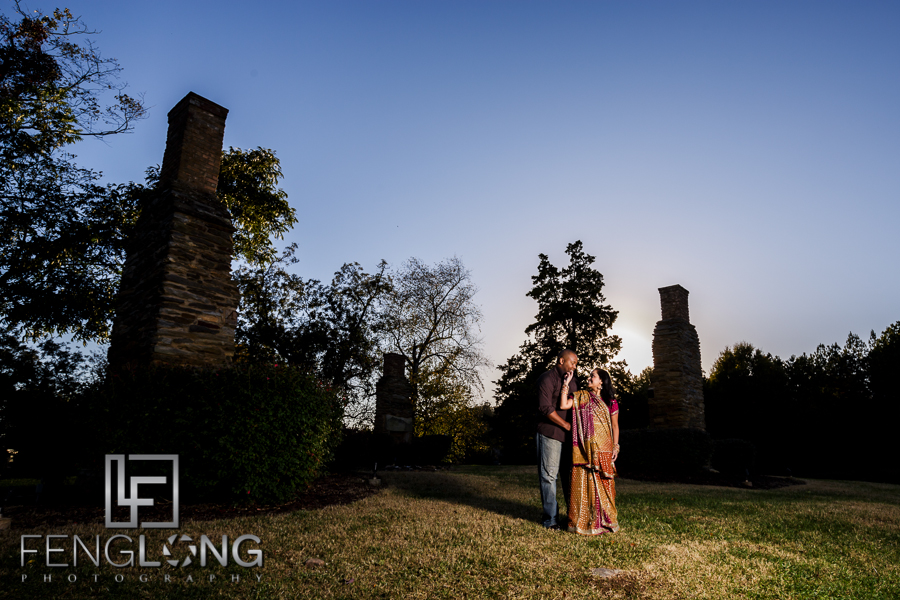 Janella & Chuck's Engagement Session   Three Chimneys Farm   Atlanta Indian Wedding Photographer