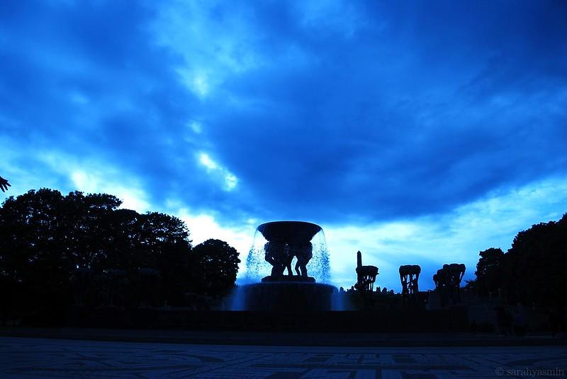 vigeland park, norway, frogner, oslo, sculpture park,