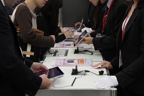 NTTドコモ 内覧会 2012冬