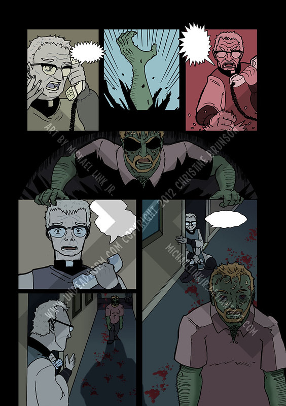 Undead Norm: What Happened to Brody? Page 1