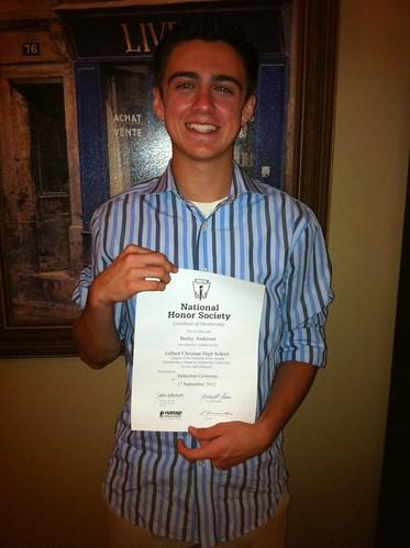 Bailey National Honor Society