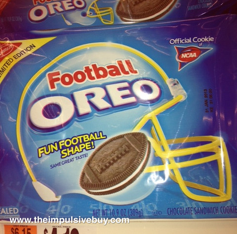 Limited Edition Football Oreo