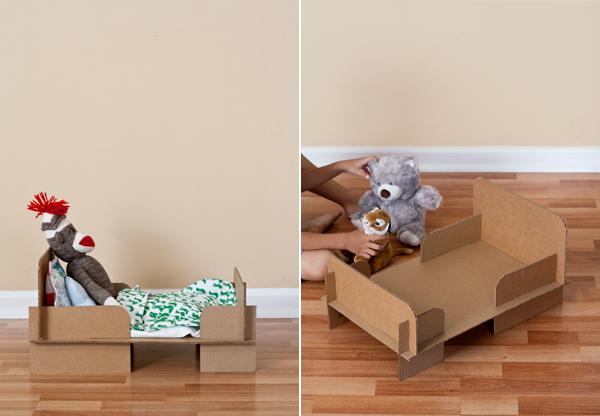 Cardboard-Bed-DIY-3