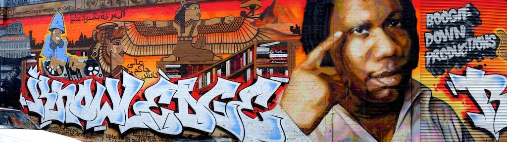 FItzroy major grafiti work.