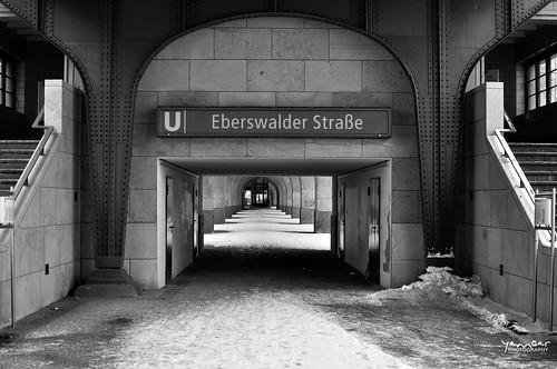 U Elberswalder Strasse by YannGarPhoto.wordpress.com