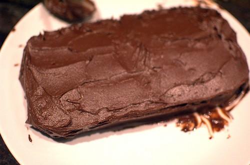 Paleo chocolate/banana cake