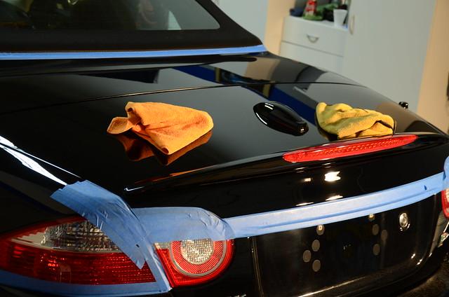 Jaguar XKR Paint Correction Detail