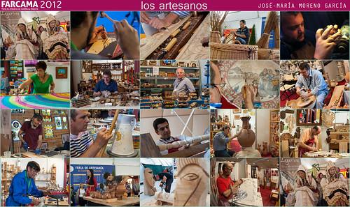 los artesanos en FARCAMA 2012 by JOSE-MARIA MORENO GARCIA = FOTOGRAFO HUMANISTA