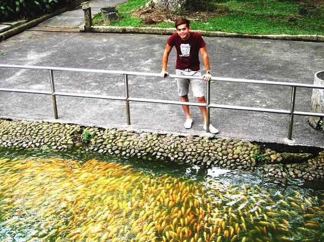 Ivan in the park