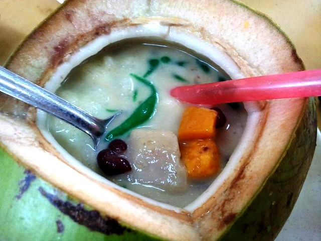 Coconut cendol 2