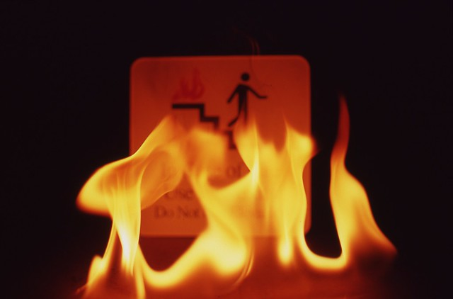Day 270/365 - In case of fire, run