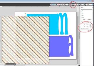 resize digital paper