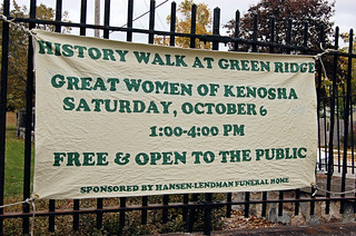 History Walk At Green Ridge Cemetery - Great Women of Kenosha