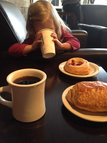 second breakfast. girl time.