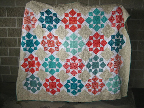 On a Whim finished quilt
