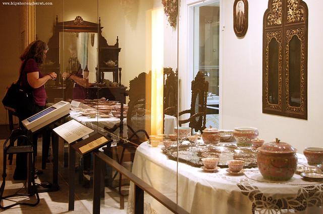 Food and Feasting Gallery Peranakan museum singapore