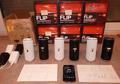 Review six Harman/JBL Flips, two with brand new Bluetooth antenna design