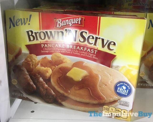Banquet Brown 'N Serve Pancake Breakfast