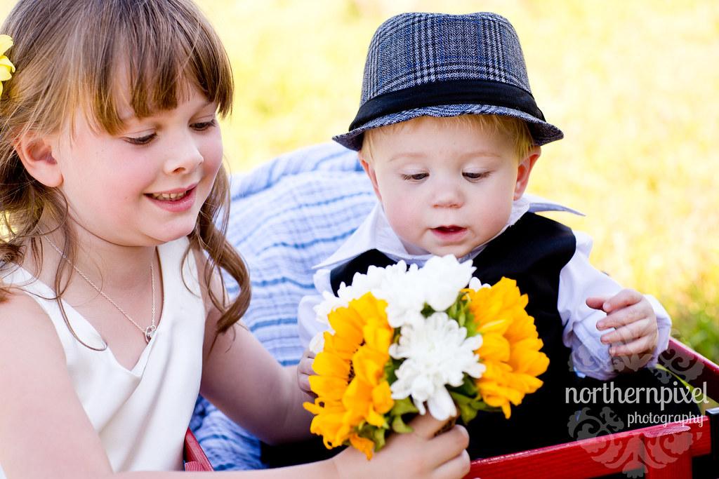 Janelle & Dan Wedding kids