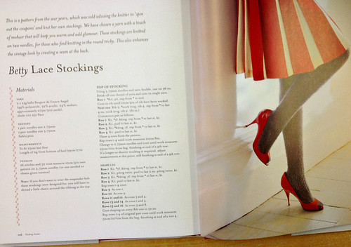 Betty lace stockings