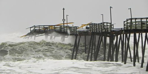 Hurricane Sandy, Oct.28-29, 2012 at the Outer Banks, NC. Mostly Kitty Hawk and Kill Devil Hills