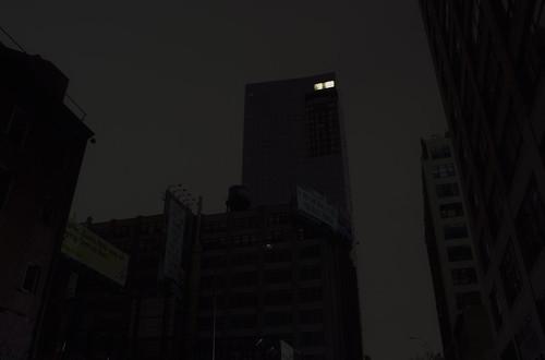 Blackout New York Hurricane Penthouse Sandy Manhattan City