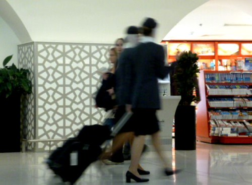 General Views Of Abu Dhabi Airport - Etihad Cabin Crew by Angela Seager