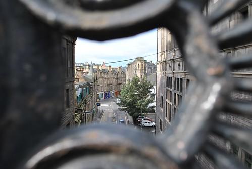 Edinburgh - Street Down Below