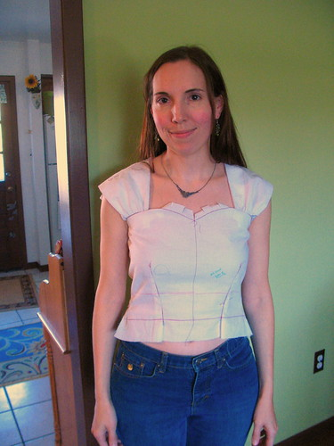 Bodice 2, front
