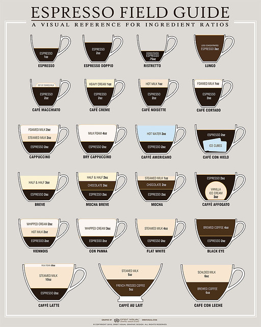 Espresso Field Guide Infographic