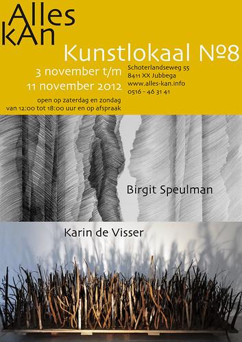 Birgit Speulman | Karin de Visser by AlleskAn - Kunstlokaal №8