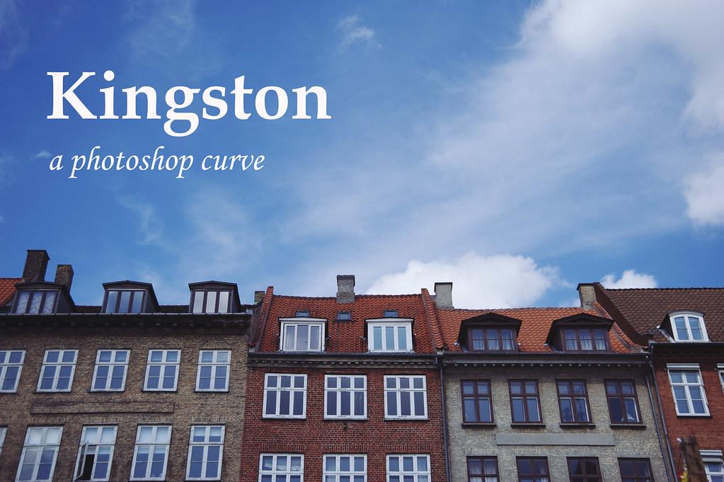 Kingston: : A Photoshop Curve