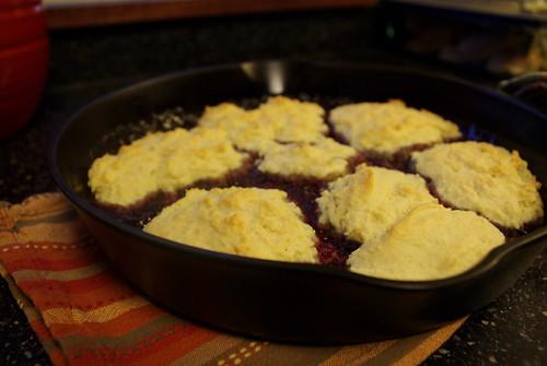 baked blackberry sonker