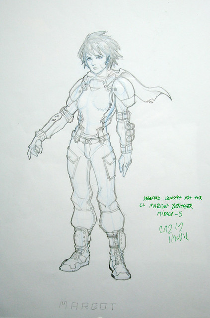 Infinity Concept Sketch
